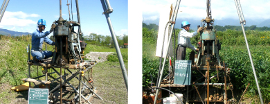 地質調査 土質調査