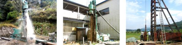 さく井工事・井戸・地下水調査